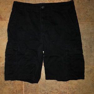 Black cargo shorts men's!